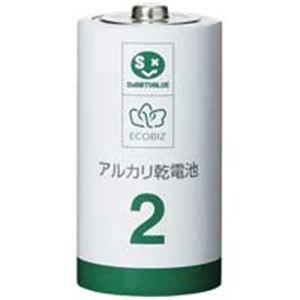 ジョインテックス アルカリ乾電池III 単2×100本 N212J-10P-10