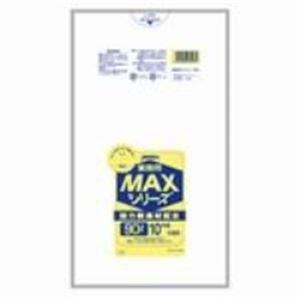 (業務用10セット)ジャパックス MAXゴミ袋 S-93 半透明 90L 10枚