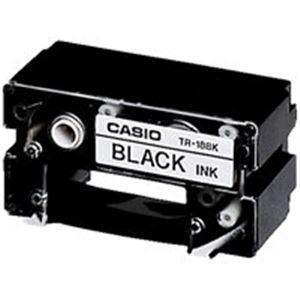(業務用7セット)カシオCASIOCR-RプリンターリボンTR-18BK黒×7セット