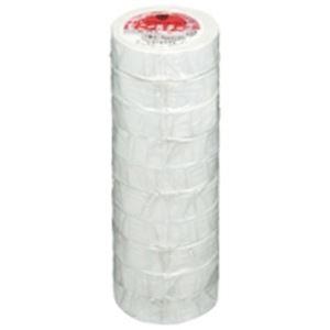 (業務用5セット)ヤマト ビニールテープ/粘着テープ 【19mm×10m/白】 10巻入り NO200-19 ×5セット