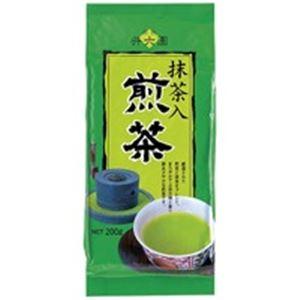 (業務用20セット)井六園抹茶入徳用煎茶200g×20セット