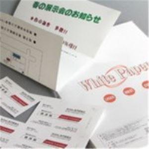(業務用100セット) Nagatoya ホワイトペーパー ナ-011 厚口 B5 100枚 h02