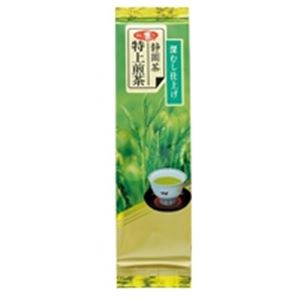 (業務用4セット)朝日茶業静岡特上級煎茶深蒸仕上げ茶葉100g
