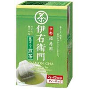 (業務用70セット)宇治の露製茶伊右衛門抹茶入煎茶ティバッグ20P入1箱【×70セット】
