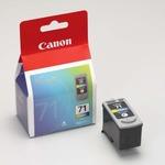 (業務用3セット) Canon キヤノン インクカートリッジ 純正 【BC-71】 3色カラー