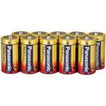 (業務用3セット)Panasonic パナソニック アルカリ乾電池 単2 LR14XJN/10S(10本) ×3セット