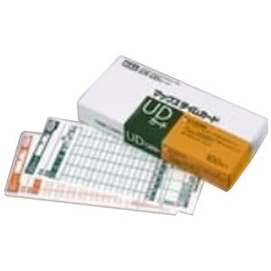 (業務用2セット)マックス タイムカード ER-UDカード 100枚入 ×2セット
