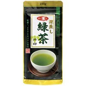 (業務用20セット)朝日茶業牧の香り深蒸し緑茶1000竹100g