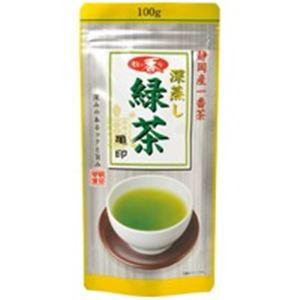 (業務用20セット)朝日茶業牧の香り深蒸し緑茶800亀100g