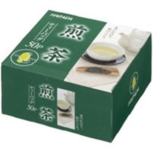 (業務用10セット)ハラダ製茶販売徳用煎茶ティーバッグ50p/1箱