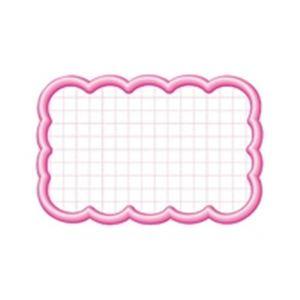(業務用10セット)タカ印 抜型カード 16-4116 雲形中 ピンク