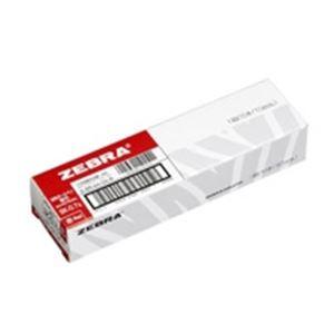(業務用5セット)ZEBRAゼブラボールペン替え芯/リフィル【0.7mm/赤10本入り】油性インクBR-6A-SK-R×5セット