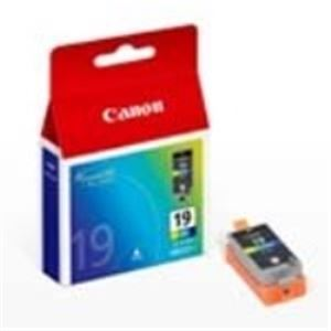 (まとめ買い)キャノン Canon インクカートリッジ BCI-19CLR 4色 【×3セット】