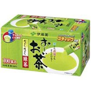 (業務用6セット)伊藤園 おーいお茶 抹茶入りさらさら緑茶 100本 ×6セット