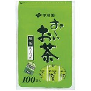 (まとめ買い)伊藤園 おーいお茶 緑茶ティーバッグ 100P/袋 【×20セット】