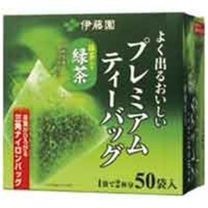 (業務用20セット)伊藤園プレミアムティーバッグ緑茶50P