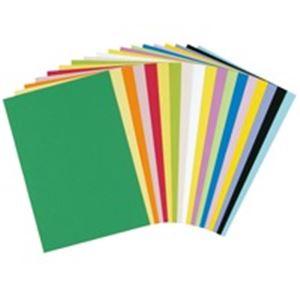 (業務用10セット)大王製紙 再生色画用紙/工作用紙 【四つ切り 10枚×10セット】 きみどり