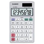 (業務用4セット)カシオ CASIO 手帳サイズ電卓 SL-300A-N