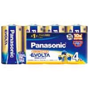 (業務用3セット)Panasonic パナソニック エボルタ乾電池 単1 LR20EJ/4SW(4個) ×3セット