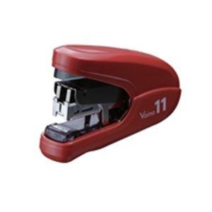 (業務用30セット) マックス ホッチキスバイモ11 HD-11FLK/R 赤 HD90302