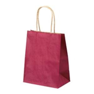(業務用40セット) ベルベ 手提紙袋 小 赤25枚入 1214 ×40セット