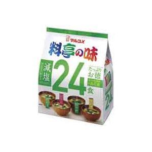 (まとめ買い)マルコメ マルコメ たっぷりお徳 減塩24食 1袋 【×40セット】