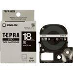 (業務用30セット) キングジム テプラPROテープ/ラベルライター用テープ 【幅:18mm】 SD18K 黒に白文字