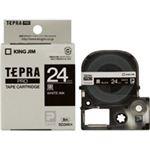(業務用3セット) キングジム テプラPROテープ/ラベルライター用テープ 【幅:24mm】 SD24K 黒に白文字