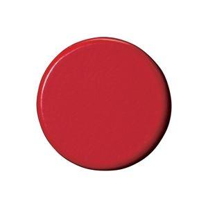 (業務用5セット)ジョインテックス 強力カラーマグネット 塗装25mm 赤 B273J-R 10個 ×5セット