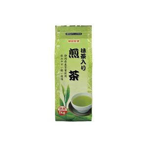 (業務用20セット) 朝日茶業 徳用抹茶入り煎茶 茶葉 1kg ×20セット