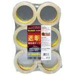 (まとめ買い)スリーエム 3M 透明梱包用テープ 6巻 313 6PN 【×3セット】
