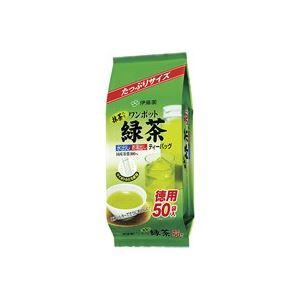 (業務用40セット)伊藤園 ワンポット緑茶ティーバッグ50袋
