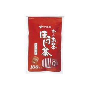 (まとめ買い)伊藤園 おーいお茶ほうじ茶ティーバッグ100袋 【×20セット】 - 拡大画像