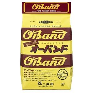 (業務用30セット) 共和 オーバンド/輪ゴム 【No.14/500g 袋入り】 天然ゴム使用 ×30セット