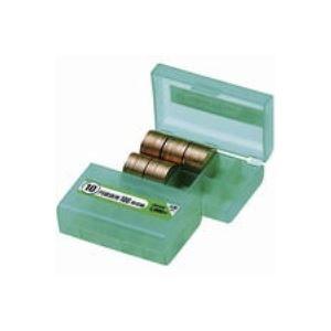 (業務用200セット) オープン工業 コインケース M-10W 10円用 収納100枚