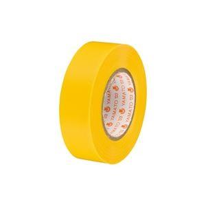 (業務用30セット)ヤマト ビニールテープ/粘着テープ 【19mm×10m/黄】 NO200-19