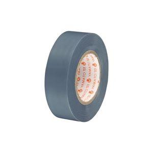 (業務用300セット) ヤマト ビニールテープ/粘着テープ 【19mm×10m/灰色】 NO200-19 h01