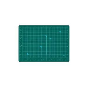 (業務用100セット) プラス カッターマット A4 GR CS-A4 緑