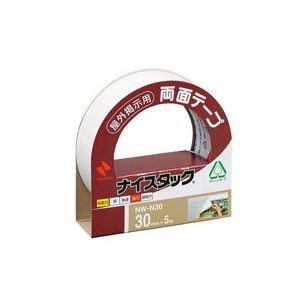 (業務用10セット)ニチバン両面テープナイスタック【屋外掲示用/幅30mm×長さ5m】不織布NW-N30