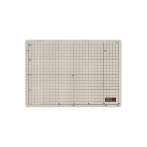 (業務用5セット)オルファ カッターマット 134B A4 グレー/茶