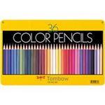 (業務用2セット)トンボ鉛筆 色鉛筆 CB-NQ36C 36色 缶入 ×2セット