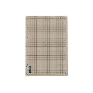 (業務用2セット)オルファ カッターマット 159B A2 グレー/茶