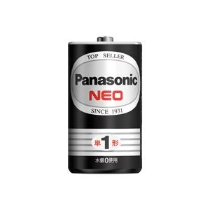 (業務用20セット)Panasonicパナソニックマンガン乾電池ネオ黒単4R03NB(2個)