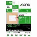 (業務用30セット) エーワン レーザープリンター用ラベルシール/宛名シール 【A4/18面 20枚】 28390