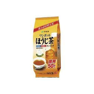 (業務用50セット)伊藤園ワンポットほうじ茶ティーバッグ50袋