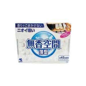 (まとめ買い)小林製薬 無香空間薄型 1個 【×80セット】