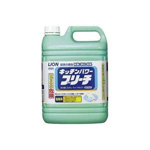 (まとめ買い)ライオン キッチンパワープリーチ 業務用5.0kg 【×20セット】