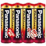 (業務用10セット)Panasonic パナソニック アルカリ乾電池 単3形 4個LR6XJ/4SE ×10セット
