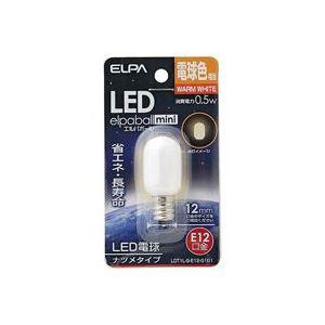 (業務用80セット)朝日電器ELPA電球形LEDランプナツメ型LDT1L-G-E12-G101