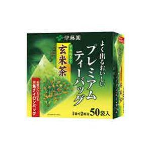 (業務用20セット)伊藤園プレミアムティーバッグ抹茶入り玄米茶50P×20セット